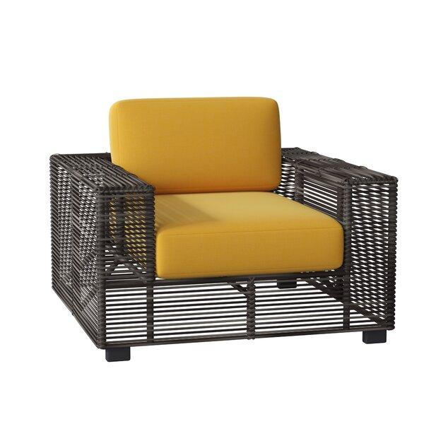 Monroe Patio Chair With Cushions By Woodard