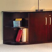 Corsica Corner Unit Bookcase by Mayline Group