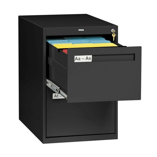 2 Drawer Vertical Legal File Cabinet by Tennsco Corp.
