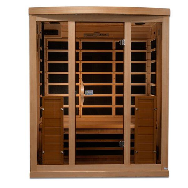 Full Spectrum 3 Person FAR Infrared Sauna by Golden Designs