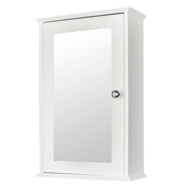 Cayenne 13'' W x 21'' H x 6'' D Wall Mounted Bathroom Cabinet