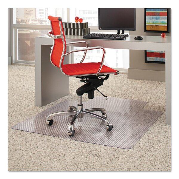 High Pile Carpet Beveled Edge Chair Mat by ES Robbins Corporation