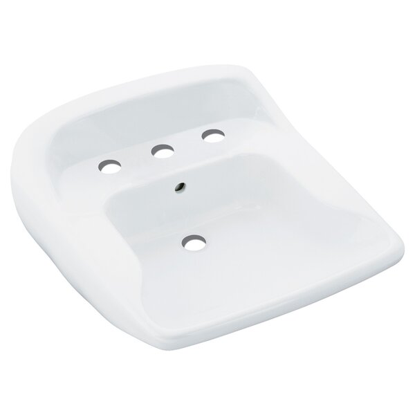 Worthington Ceramic 21 Wall Mount Bathroom Sink by Sterling by Kohler