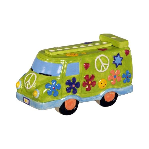 Ceramic Peace Van Menorah by Israel Giftware Design