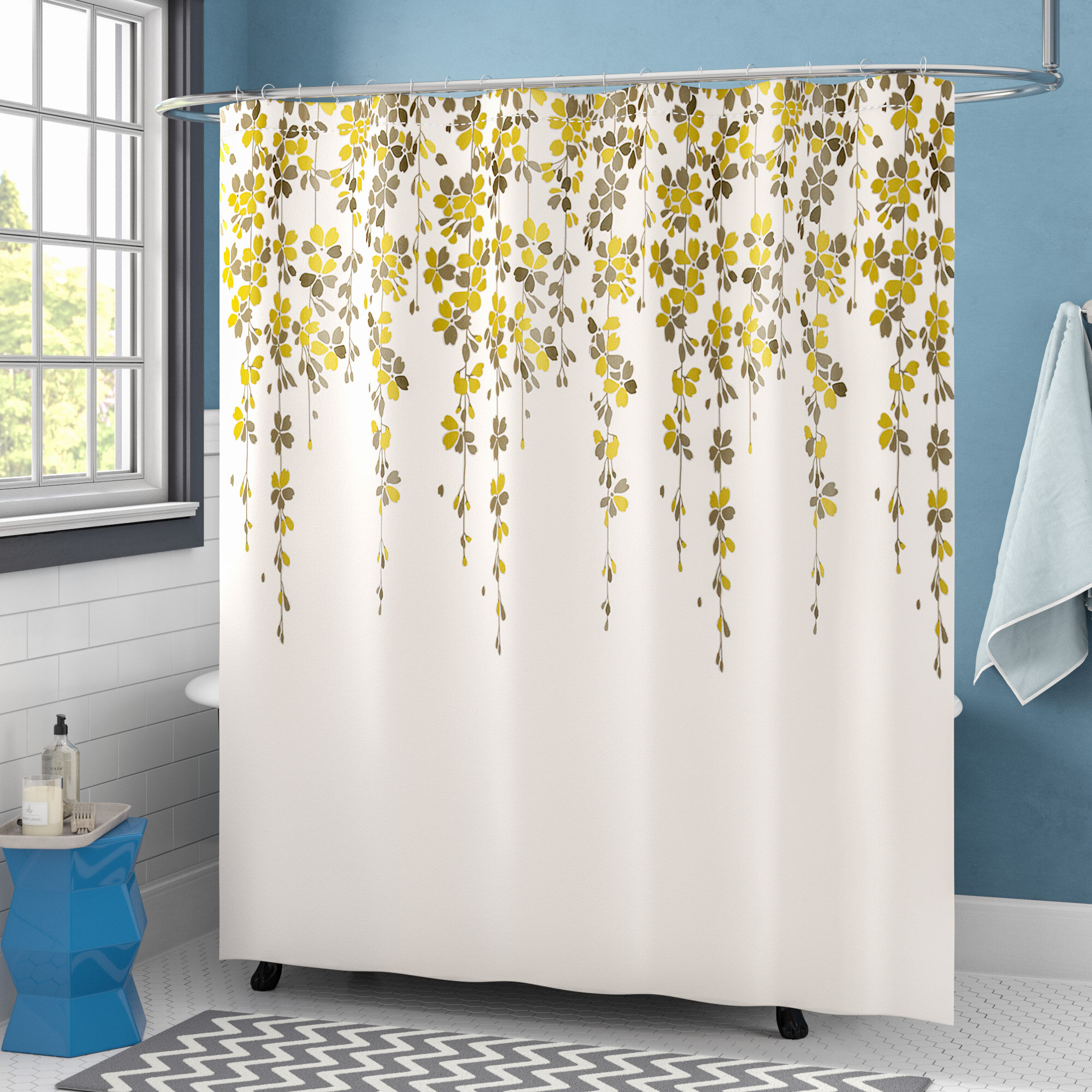 Shower Curtains Shower Liners You Ll Love In 2021 Wayfair