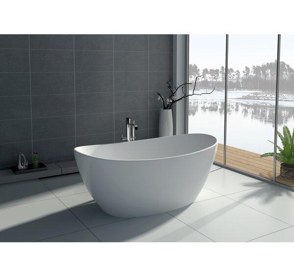 64.2 x 33.5 Freestanding Soaking Bathtub by Legion Furniture