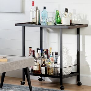 City Life Metal Bar Cart by South Shore