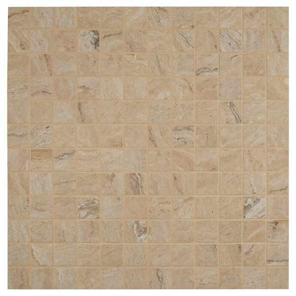 Veneto 2 x 2 Porcelain MosaicTile in Sand by MSI