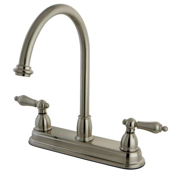 Restoration Centerset Double Handle Kitchen Faucet by Kingston Brass