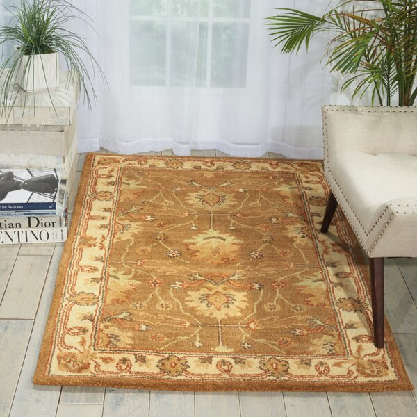 McGuire Hand-Tufted Amber Area Rug by Birch Lane™