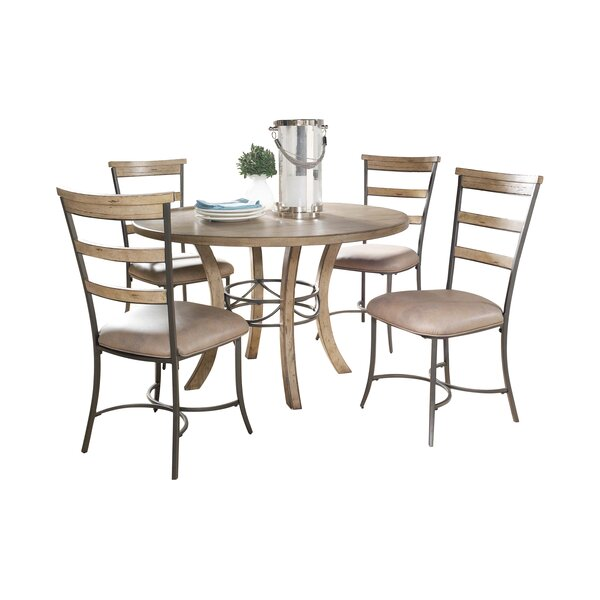 Amazing Rocio 5 Piece Dining Set By Alcott Hill Coupon
