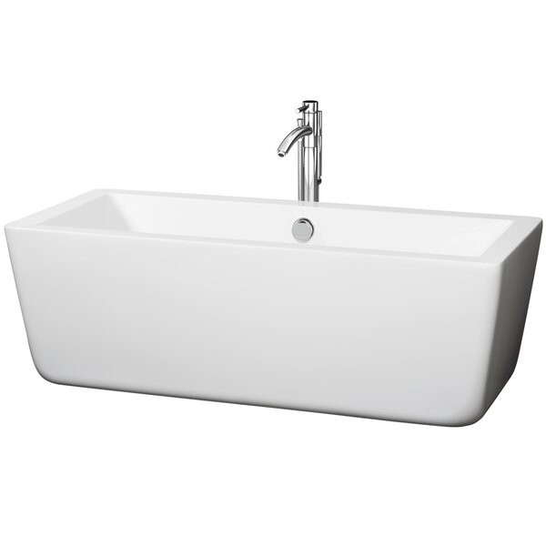 Laura 67 x 29 Soaking Bathtub by Wyndham Collection