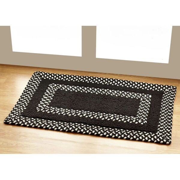 Hercules Chocolate Indoor/Outdoor Area Rug by Better Trends