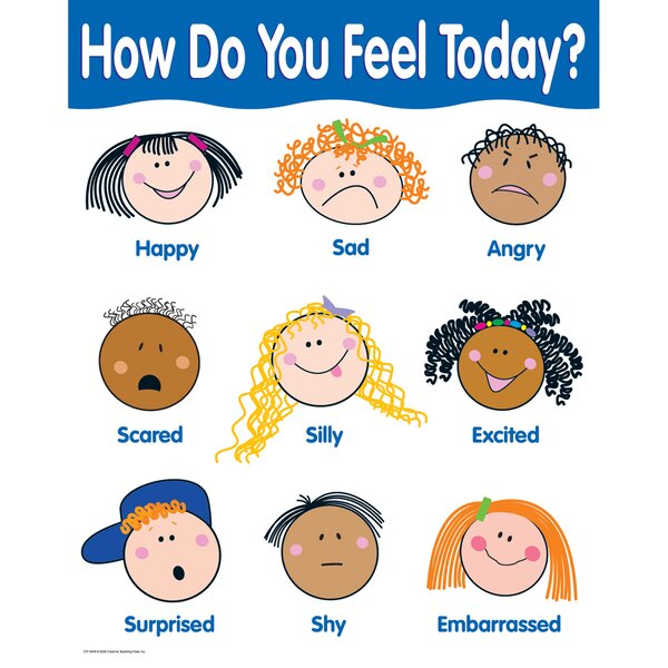 How Do You Feel Chart by Creative Teaching Press