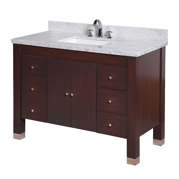 Riley 48 Single Bathroom Vanity Set by Kitchen Bath Collection