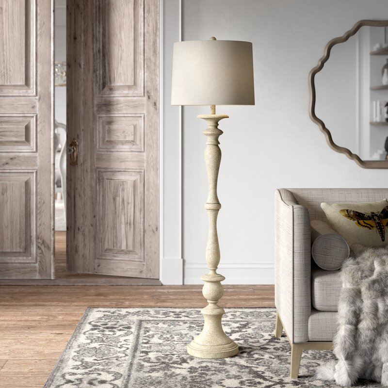 "10"" Column Floor Lamp"