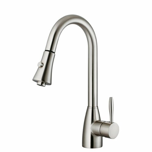 Pull Down Single Handle Kitchen Faucet by Cadell