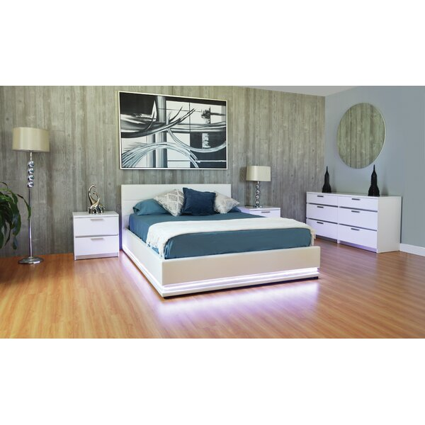 Haskett Queen Storage Platform Configurable Bedroom Set by Brayden Studio