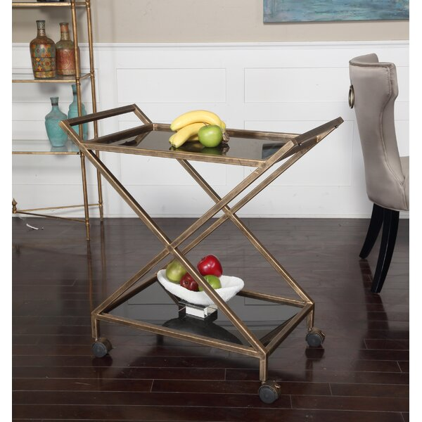 Pernell Bar Cart by Brayden Studio Brayden Studio