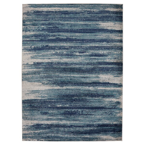 Chelsi Teal Area Rug by Williston Forge