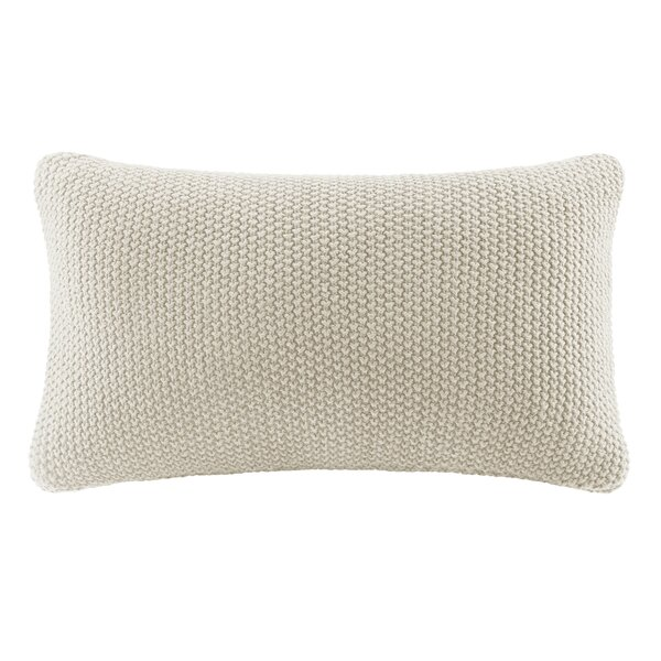 Elliott Knit Lumbar Pillow Cover by The Twillery Co.| @ $24.99