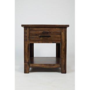 Rodrigo Wooden End Table