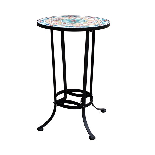 Coburn Mosaic Bistro Table by Fleur De Lis Living