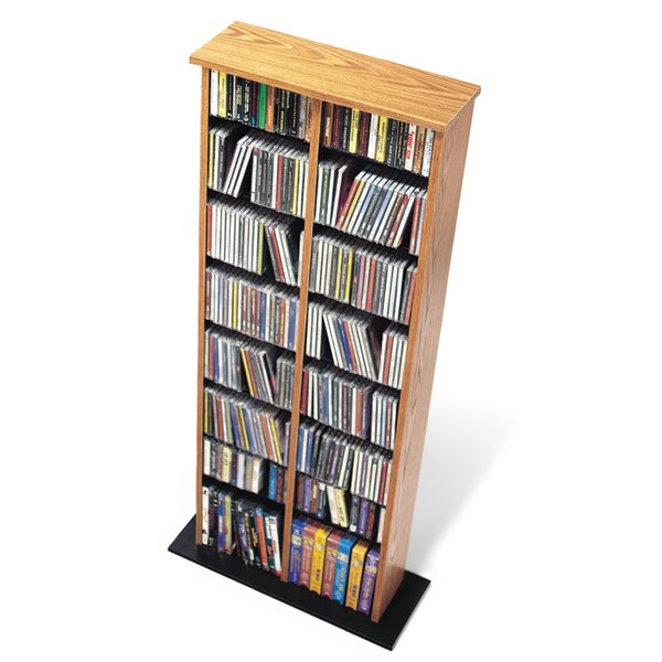 Lamb Double Media Multimedia Storage Rack by Red Barrel Studio