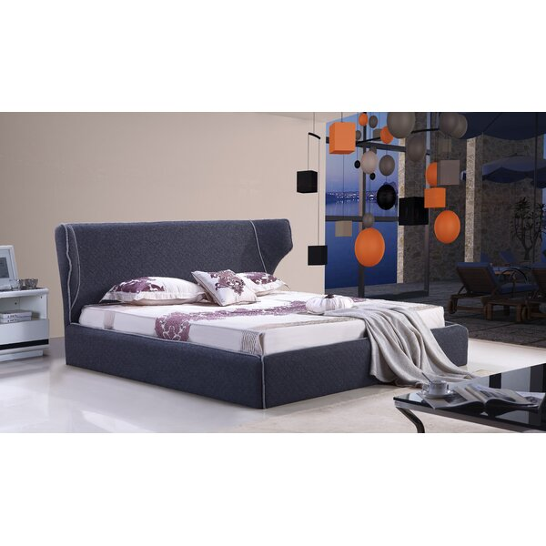 Great price Delapena Upholstered Platform Bed By Brayden Studio 2019 Sale