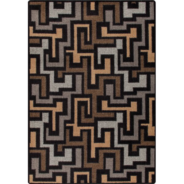 Mix and Mingle Black Label Junctions Rug by Milliken