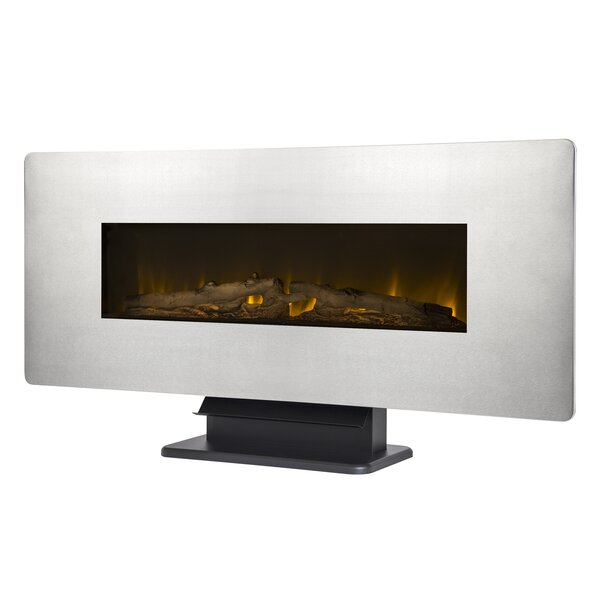 Wall Mounted Electric Fireplace by Muskoka