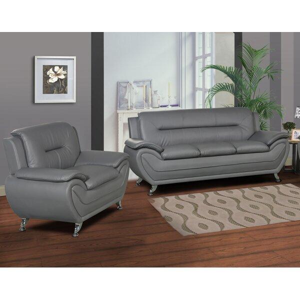 Brose Modern 2 Piece Living Room Set by Ebern Designs