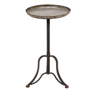 Reviews Pearl Metal End Table ByLaurel Foundry Modern Farmhouse