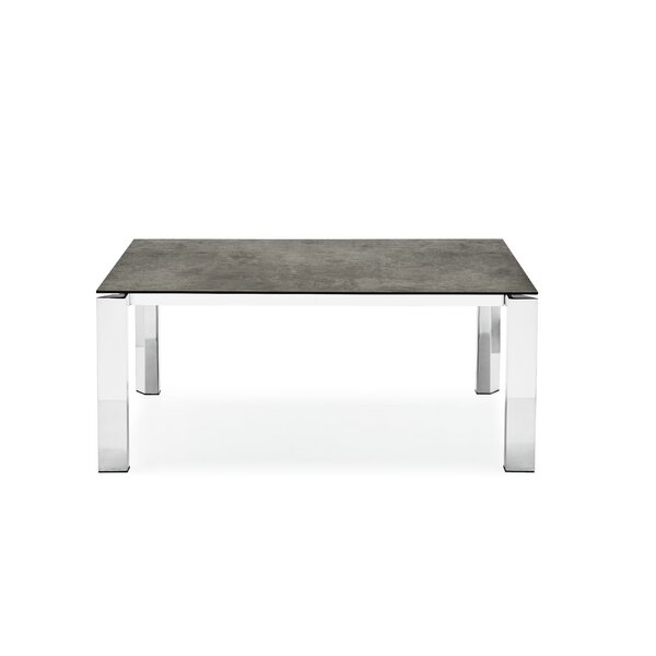 Meacham Ceramic Top Extendable Dining Table by Orren Ellis