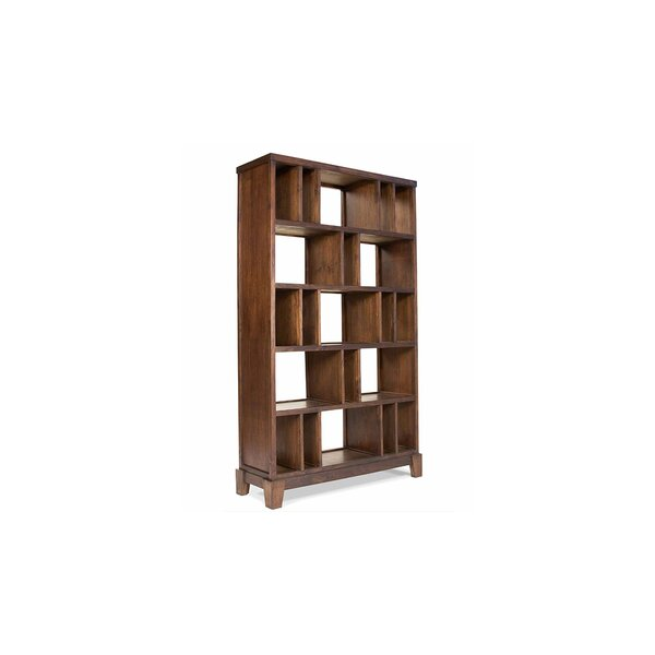 Cranleigh Geometric Bookcase by Loon Peak
