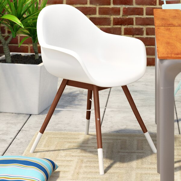 Colyer Patio Dining Chair (Set of 4) by Mercury Row