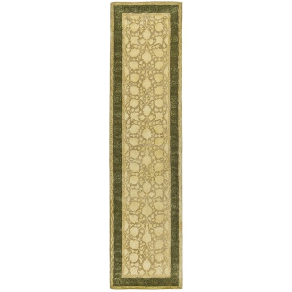 Bellview Hand-Tufted Wool Ivory Area Rug