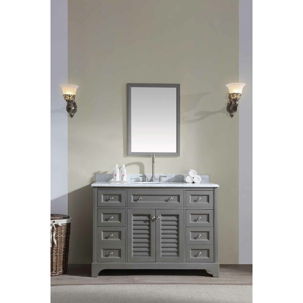 Mathais 48 Single Bathroom Vanity Set by Gracie Oaks