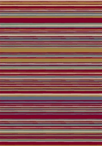 Innovation Lola Ruby Striped Area Rug by Milliken