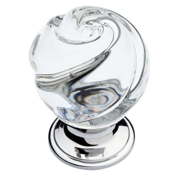 Swirled Glass Cabinet Knob by Liberty Hardware