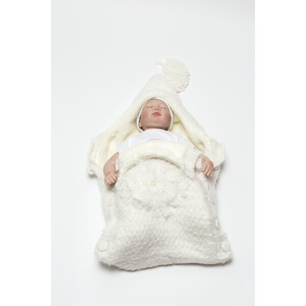 Colleyville Knitted Wool Blended Baby Sleep Wrap b