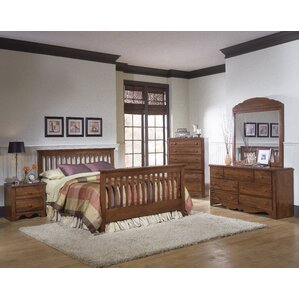 Crossroads Panel Configurable Bedroom Set by Carolina Furniture Works, Inc.