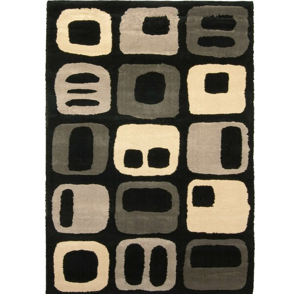 Brainerd Taffy Black/Beige Area Rug by Brayden Studio
