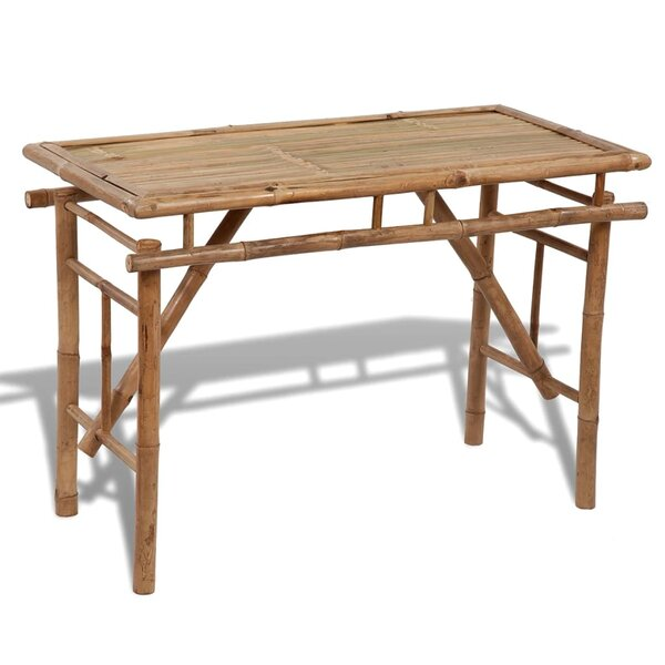 Schley Folding Wooden Table by Bay Isle Home