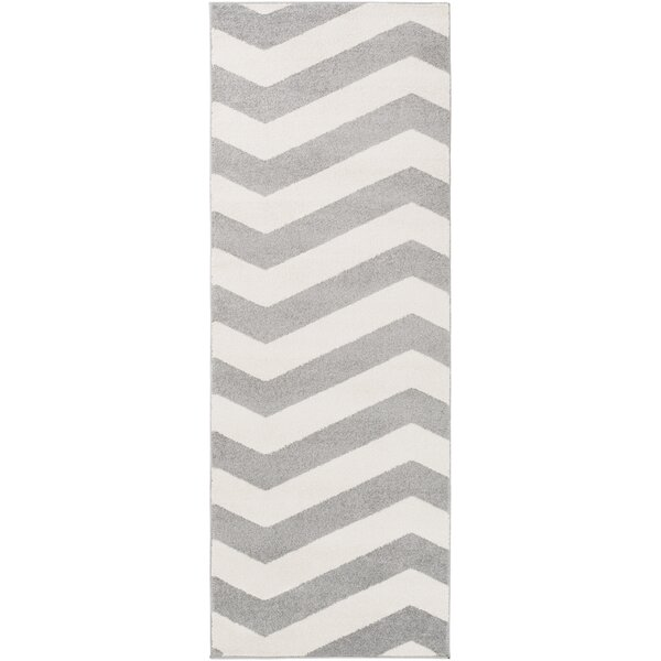 Greer Ivory/Gray Area Rug by Latitude Run