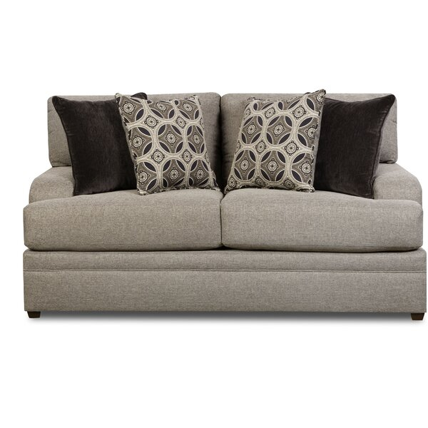 Buy Online Top Rated Elienor Loveseat by Simmons Upholstery by World Menagerie by World Menagerie