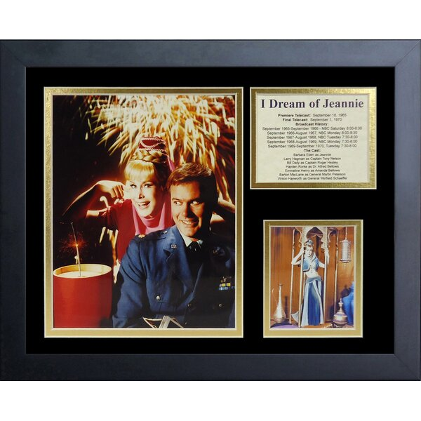 I Dream Framed Photographic Print by Legends Never Die