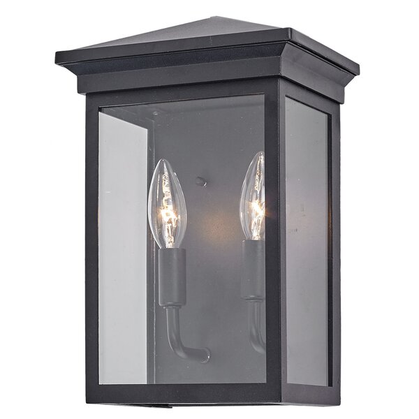 Petrella 2-Light Outdoor Wall Lantern by Charlton Home