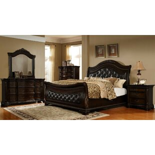 Damaris Sleigh 4 Piece Bedroom Set By Astoria Grand