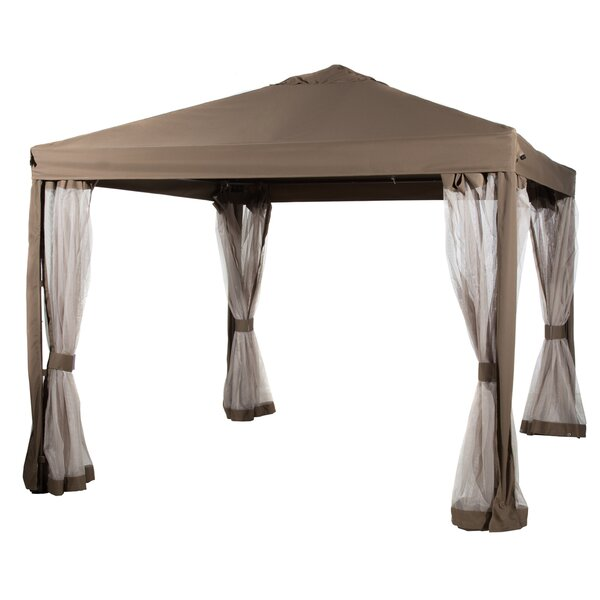 Abba Patio 10 Ft. W x 10 Ft. D Steel Pop-Up Canopy by Abba Patio
